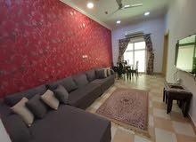 للإيجار شقة جديدة ومؤثثة في الجنبية خلف مجمع الميركادو وقريبة جدا من الها يوي