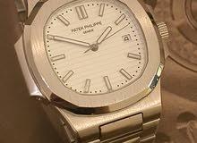 Patek Philippe Nautilus white dial