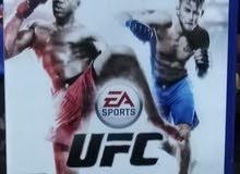 شريط PS4 UFC  للبيع ب 10﷼