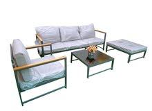 Outdoor Furniture Aluminum Sofa set 5 Seaters