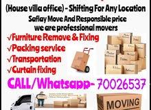 Doha House  moving shifting services