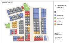 للبيع أراضي سكنية بالاقساط في الزاهية