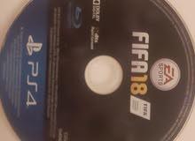 لعبة فيفا 18 علئ ps4 (بليستيشن 4 )                          fifa 18 on ps4