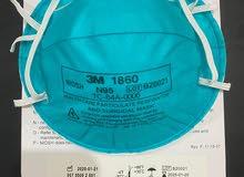كمامات 3M1860 متوفر 123الف حبه بسعر 23