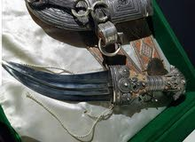 خنجر سعيدي فاخر صياغه ثقيله