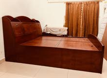 Wooden Double Bed for sale!!
