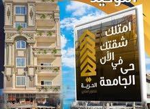 للبيه شقه بشارع رقم 7 بابن زيد المنصورة امام توشكى