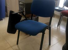 كرسي دراسة او محاضرات مع مسند متحرك