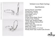Lever Back Earrings
