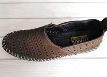 حذاء جلد تركي جديد