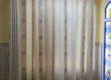 ستارة قطعة واحدة نظيفة قماش ممتاز 2 x 2.5 متر