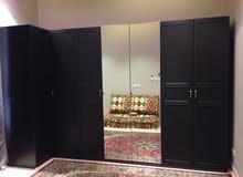 Ikea PAX Black Wardrobe