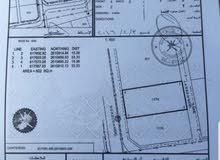 للبيع ارض سكنية ممتازة في المعبيلة حلة النصر مقابل مول مسقط على ثاني خط من الشارع العام