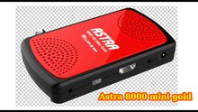 Receiver Astra 8000 HD MINI Gold