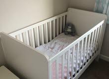 Mamas and Papas Rialto White Cot/Toddler Bed