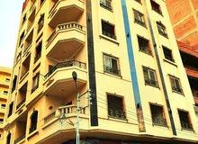 شقة للبيع بالمنصورة 100م ب احمد ماهر
