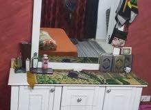 غرفة نوم سحاب لون ابيض للبيع