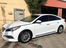 Hyundai Sonata 2015 For sale - White color