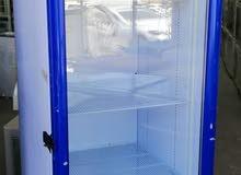 ثلاجات باب زجاجي  فل نظافه وقوة تبريد وذو ماركه عالية الجوده(ولاية المصنعه)
