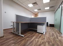 مكاتبنا - للإيجار بعقود مرنة وأسعار منافسة ، العليا