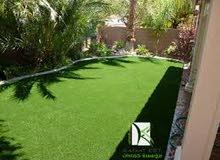 خبراء العشب الصناعي بالسلطنة تصميم وانشاء الحدائق والملاعب الصناعية