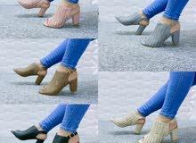#حذاء نسائي كعب 7 سم #السعر  15 #متوفر_بكميه   #القياسات  #اسود 37.38.39.40.41 #