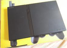 بلايستيشن 2 + 4 دراعات (playstation 2 (PS2