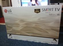 العرض الأقوى شاشة  2017 smart  LG 49
