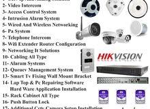 door intercom cctv networking wifi
