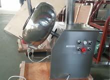آلة خلط و طلاء المكسرات و الحلوى و إضافة النكهات إليها مناسبة للمشاريع الصغيرة