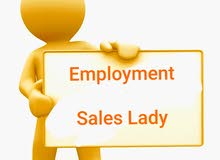 employing sales lady