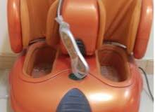 جهاز مساج للقدم  ماركة حياتي   مستعمل استعمال خفيف