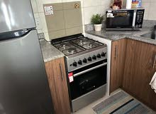 Daewoo gas cooker 4 burners + oven