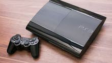 PS3 SuperSlim مستعمل / 900 دينار / او تبديل باشتراك beIN Sports .