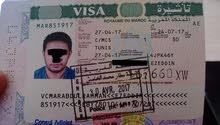 تأشيرة مصر والاردن وتركيا والشنقن