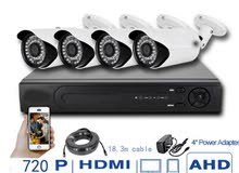 4كاميرات مراقبة cctv