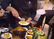 شيف مصري خبره كبيره بالاكل العربي والغربس من طبخ ومقبلات ومشاوي