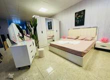 غرف نوم 5 قطع تركي تخفيظات السعر 700 الف مع النقل والشد داخل مركز البصرة مجاني