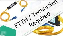 FTTH / Technician required
