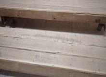 مقاعد خشب للدروس صناعه جيده