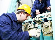 An elevator breakdown technician is required
