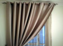 ستائر للبيع five curtains each 2 piec  , with 20 OMR