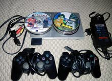 ps2 with 24 cd