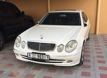 Mercedes Benz E500 in Fujairah