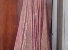فستان سهرة ملبوس لبسة وحدة بس