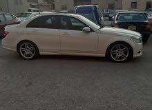 White Mercedes Benz C 300 2010 for sale