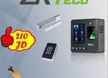 الحل الأمثل للشركات: وحدة مراقبة الدوام والتحكم بالمداخل ZKT SF100