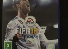 للبيع FIFA 18 نسخة عربية