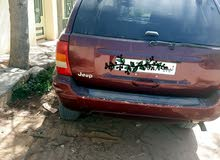 Automatic Maroon Jeep 2000 for sale