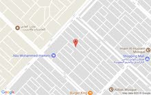 نصف قطعة اماميه طابقين للبيع او مراوس ببيت كامل 144 في مدينة الصدر